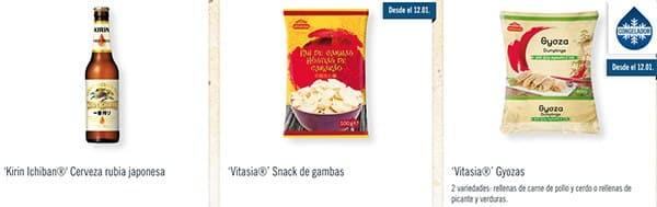 vitasia lidl productos - Catálogo LIDL del 10 al 17 enero