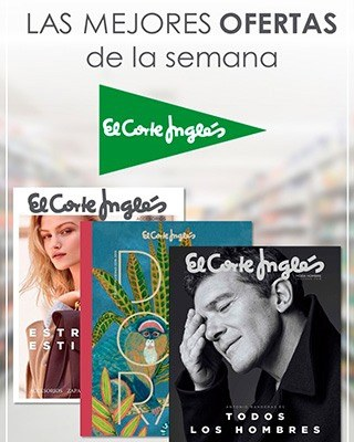 El Corte Ingles folleto online