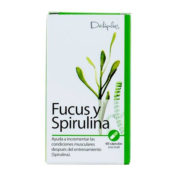 Fucus Spirulina Deliplus - Espirulina Mercadona