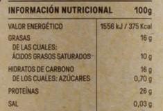 informe nutricional cacao - Cacao puro Mercadona