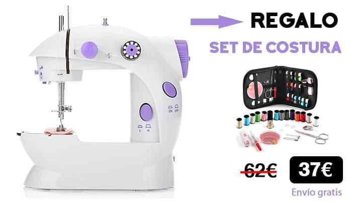 maquina coser set costura