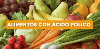 Alimentos con Acido folico