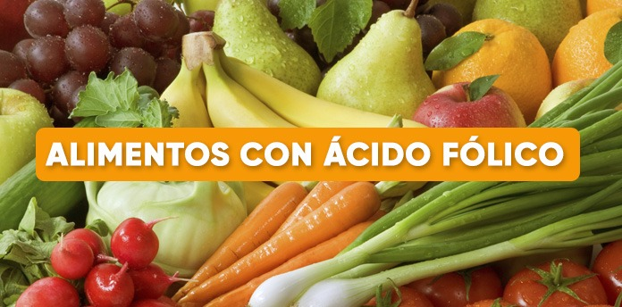 ácido fólico alimentos que contienen