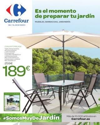 Catálogo Carrefour Muebles Para El Jardín
