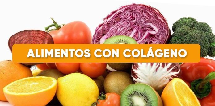 Listado Alimentos con colágeno