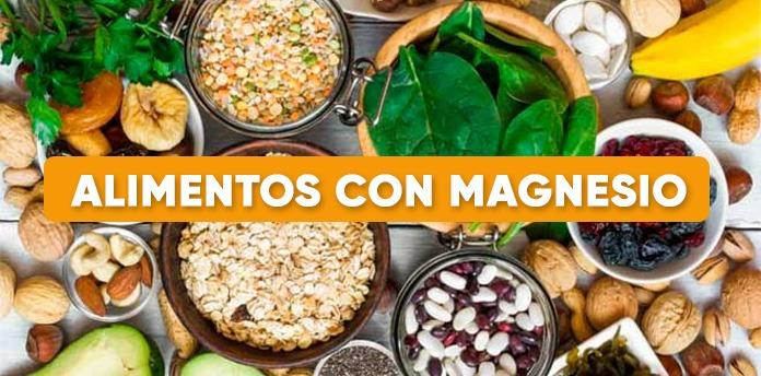 alimentos con magnesio - Alimentos con Magnesio