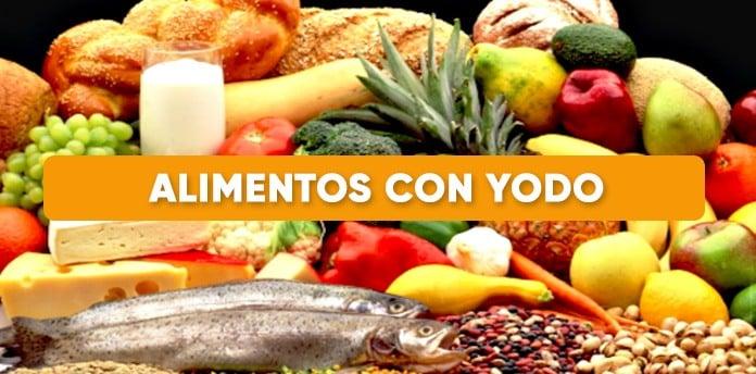 alimentos con yodo - Alimentos con Yodo
