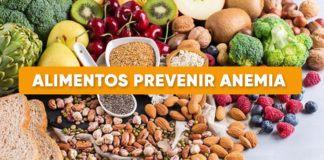 alimentos prevenir anemia