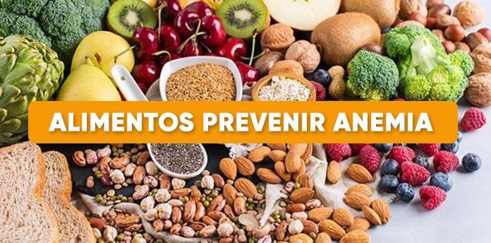 alimentos prevenir anemia - Alimentos para prevenir la anemia