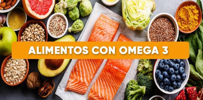 alimentos ricos omega 3