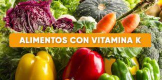 alimentos vitamina k