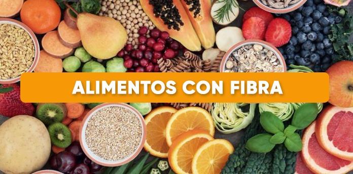 alimentos con fibra - Alimentos con fibra