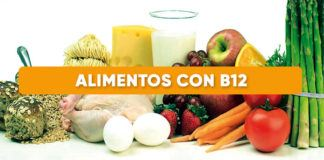 Alimentos ricos B12