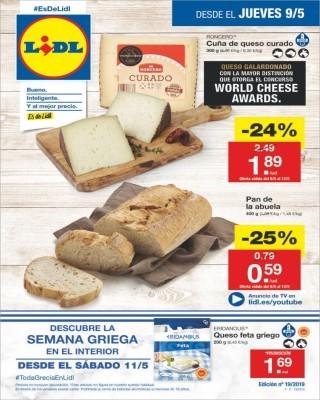 venta en el reino unido Estados Unidos gran venta Catálogo LIDL del 9 al 16 de mayo