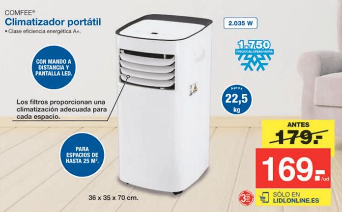 precio climatizador portatil lidl - Climatizador Portátil Lidl