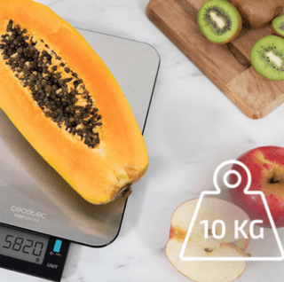 Cook Control 9000 maximo 10kg - Básculas de cocina Cecotec