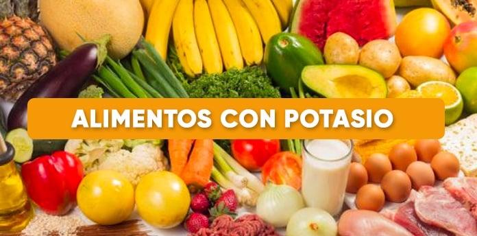 alimentos con potasio - Alimentos con Potasio