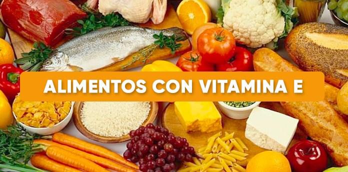 alimentos con vitamina e - Alimentos con vitamina E