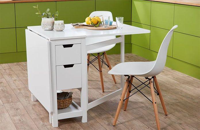 mesa plegable lidl abierta copia - Mesa plegable con cajoneras Lidl