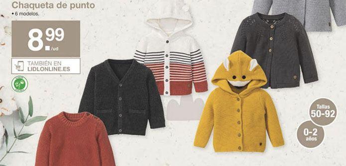 ropa lupilu ecologica - Catálogo LIDL del 19 al 25 septiembre
