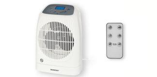 calefactor lidl con mando a distancia