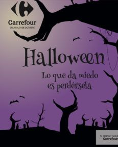 Folleto Carrefour: Halloween