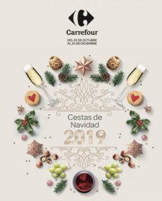 cestas navidad carrefour 2019