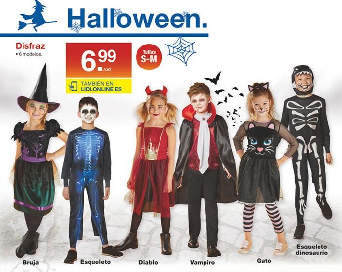 disfraces halloween lidl - Catálogo LIDL del 17 al 23 octubre