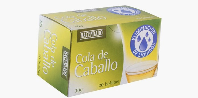 infusiones cola caballo - Cola de caballo Mercadona