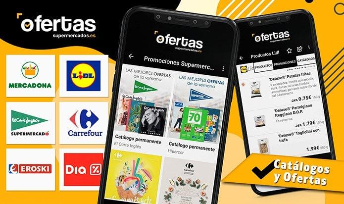 App Ofertas Supermercados - Black Friday Lidl del 28 Noviembre al 4 Diciembre