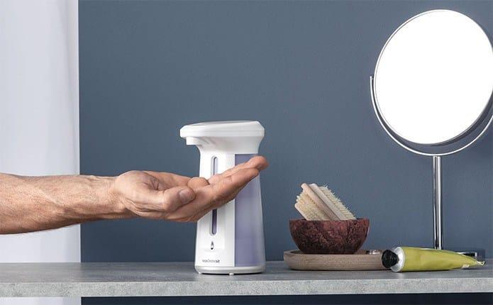 dispensador jabon automatico lidl - Dispensador eléctrico de jabón de Lidl