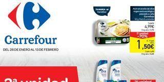 28enerocarrefour 320x160 - Catálogo CARREFOUR del 28 al 13 febrero 2 unidad -70%