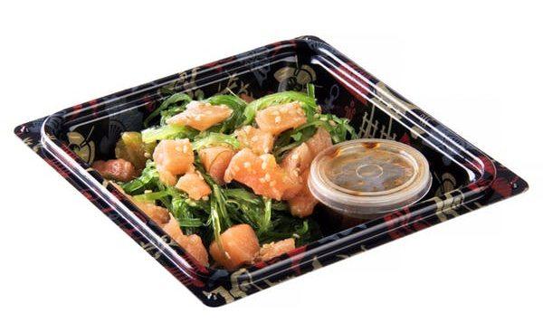 Ensalada de Wakame con salmon Mercadona - Wakame en Mercadona