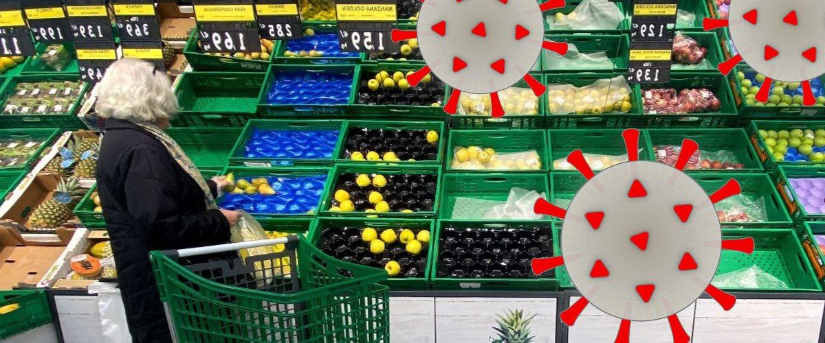 consejos compra supermercados covid