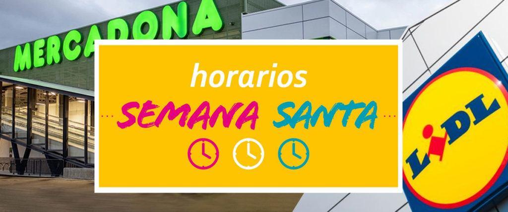 horarios semana santa supermercados 1024x427 - Horarios de los supermercados en Semana Santa