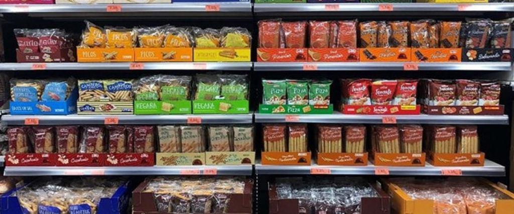 snacks horneados mercadona 1024x427 - Productos de Mercadona sin demanda en el confinamiento