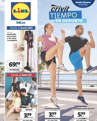 crivit deporte - Catálogo LIDL del 28 mayo al 3 de junio