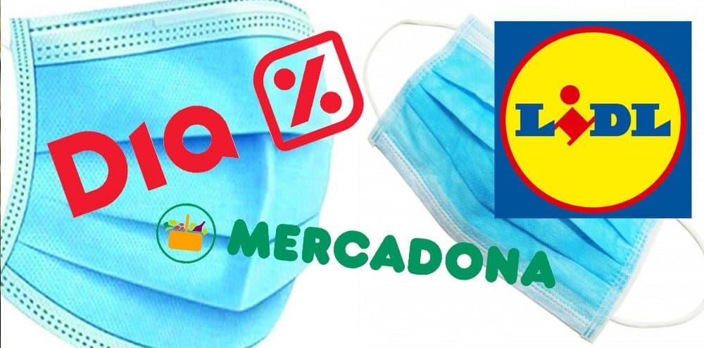 mascarillas supermercados - Mascarillas a la venta en Carrefour, DIA y Lidl