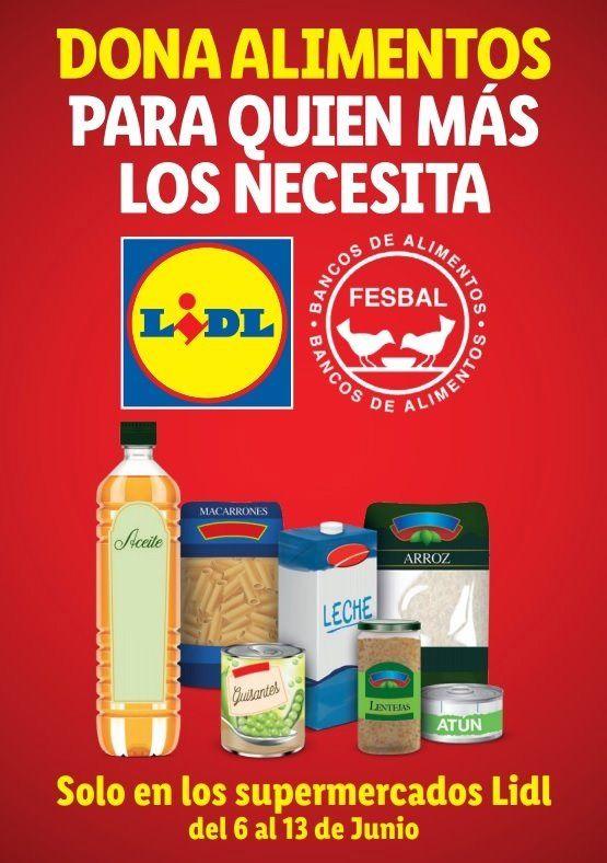 donacion alimentos lidl - Campaña LIDL: Dona alimentos para quien los necesita