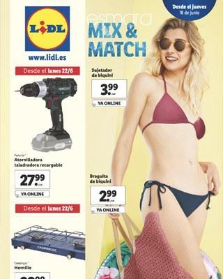 esmara conjuntos playa - Catálogo LIDL del 18 al 24 junio