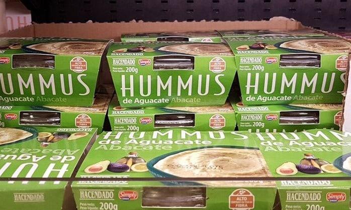 hummus hacendado guacamole - Hummus de Aguacate de Mercadona