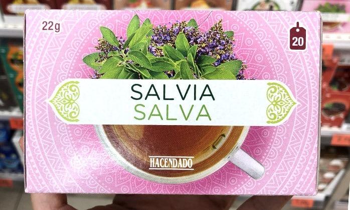 infusiones salvia hacendado mercadona - Infusión de Salvia Mercadona