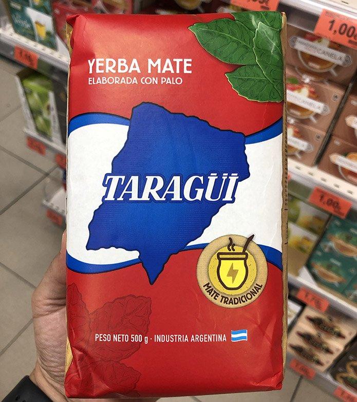 yerba mate - Yerba Mate Taragui de Mercadona