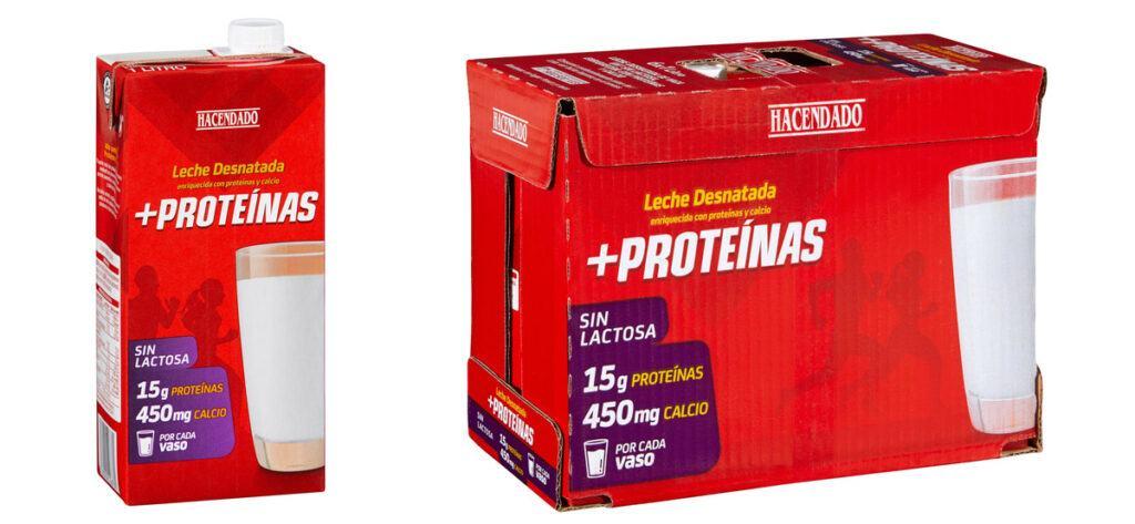 Leche desnatada alta en proteinas Hacendado 1024x473 - Leche desnatada alta en proteínas de Mercadona