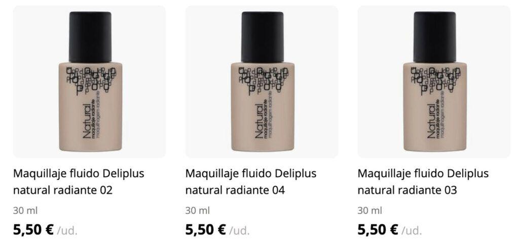 maquillaje deliplus natural 1024x473 - Maquillaje fluido natural de Mercadona