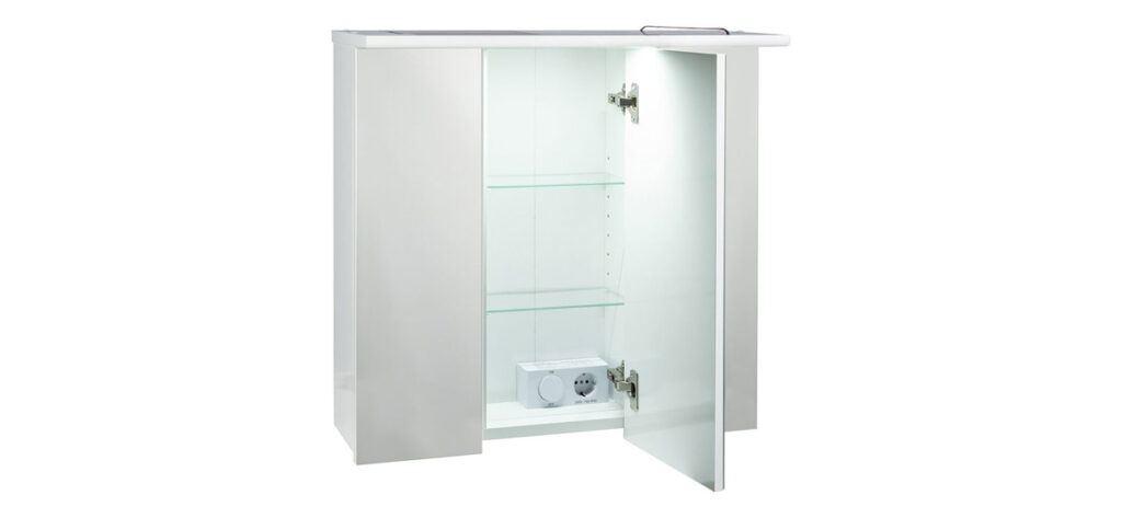Armario con espejo blanco 1024x473 - Armario con espejo blanco de Lidl