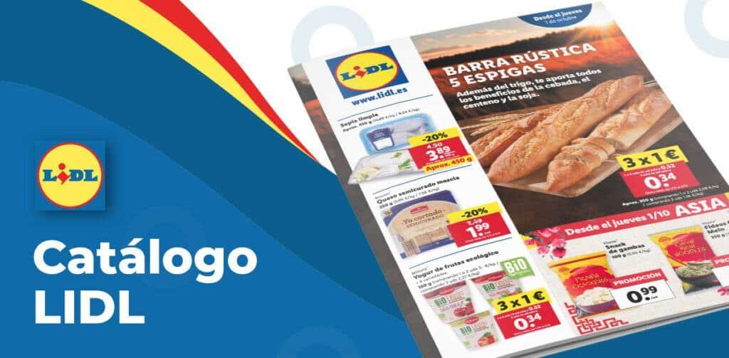 alimentacion lidl 1 octubre 1024x503 - Catálogo alimentación Lidl del 1 al 7 octubre