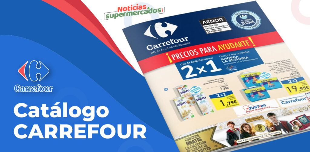 carrefour 11 23 septiembre 1024x503 - Catálogo 2x1 Carrefour del 11 al 23 septiembre