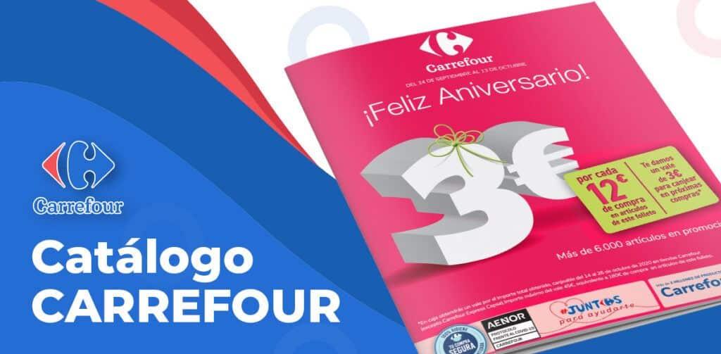 folleto aniversario carrefour 1024x503 - Folleto Aniversario Carrefour del 24 septiembre al 13 octubre
