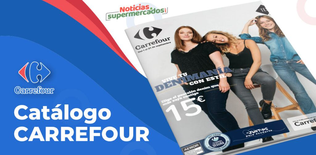 textil carrefour septiembre 1024x503 - Catálogo de ropa Carrefour del 1 al 21 septiembre